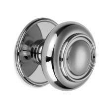 Croft Verve Centre Door Knob 4176 Polished Chrome
