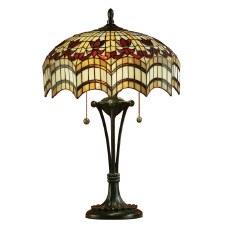 Interiors 1900 Vesta Tiffany Large Tiffany Table Lamp