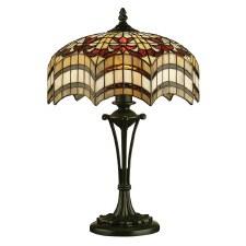Interiors 1900 Vesta Medium Tiffany Table Lamp