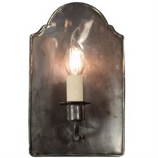 Vestry Wall Light, Antique Brass