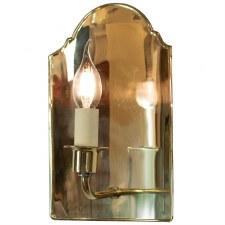 Vestry Wall Light Polished Brass