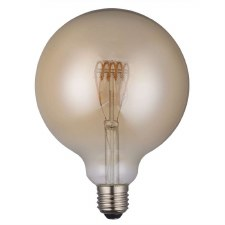 LED ES Vintage Globe Bulb 4W Dimmable