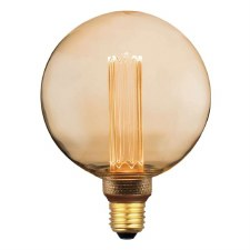 LED ES Vintage Micro Filament Large Globe Bulb 3.5W Dimmable