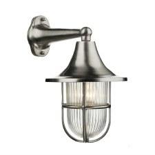 David Hunt WAD1538 Wadebridge Wall Light Nickel IP64