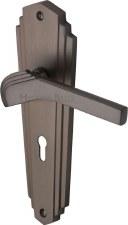 Heritage Waldorf Door Handles LO WAL6500 Matt Bronze