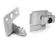 Radiator Wall Clamp & Tie Bracket