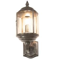Wentworth Outdoor Wall Lantern Antique Brass