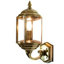 Wentworth Outdoor Wall Lantern Renovated Brass