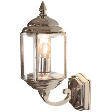 Wentworth Outdoor Wall Lantern Nickel