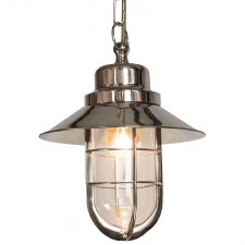 Wheelhouse Nickel Pendant Light