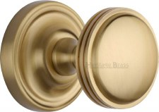 Heritage Whitehall Mortice Knobs WHI6429 Satin Brass