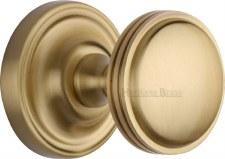 Heritage Whitehall Mortice Knobs WHI6429 Satin Brass