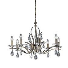 Willow Chandelier Light 8 Lights Bronze