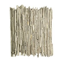 David Hunt WIL0733 Willow Wall Light Distressed Old Ivory