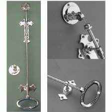 Wilmslow Door Bell Pull Antique Nickel