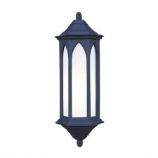 Winchester Outdoor Wall Light Lantern Black