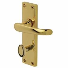 Heritage Windsor V730 Bathroom Handles Stainless Brass