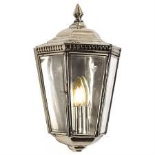 Windsor Outdoor Passage Lantern Nickel