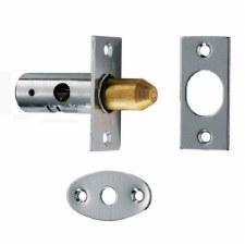 Window Security Bolt Satin Chrome