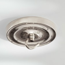 Ceiling Hook Large Polished Nickel