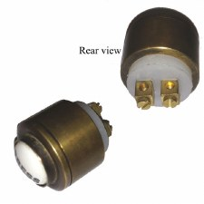 Replacement Bell Push Ant Satin Brass