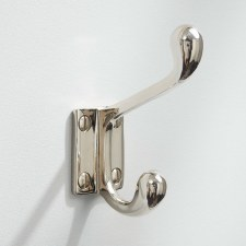 Hat & Coat Hook Classic Polished Nickel