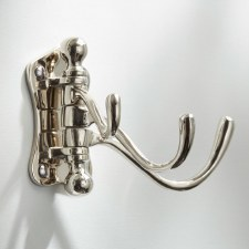 Triple Door Hook Polished Nickel