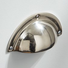 Classic Drawer Pull Polished Nickel