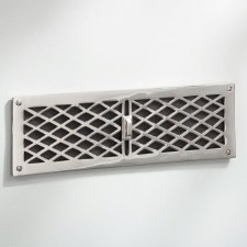 Cast Air Vent with Slider Polished Chrome