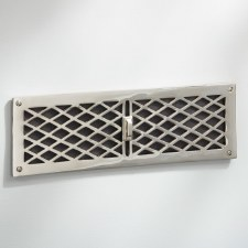 Cast Air Vent Polished Nickel