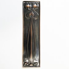 Finger Plate Flower Oil Rubbed Bronzed