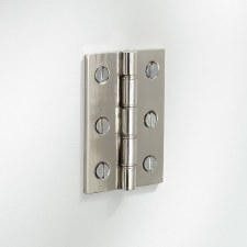 "Butt Hinge 3"" Polished Nickel"