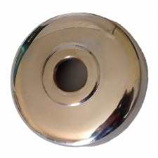 Round Dome Only Polished Nickel