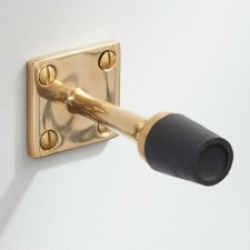 Skirting Door Stop Polished Brass