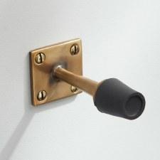 Skirting Door Stop  Renovated Brass
