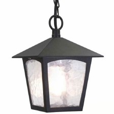 Elstead York Chain Light Black