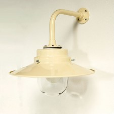 York Outdoor Wall Light Cream