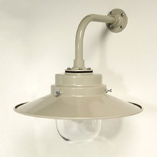 York Outdoor Wall Light Putty Grey