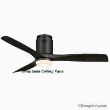 "Fantasia Elite Zeta 52"" Ceiling Fan with Light Black"