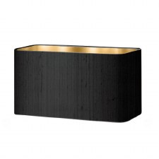 David Hunt Zoffany Shade ZOF12 Black Silk with Gold Lining