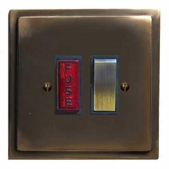 Mode Switched Fused Spur Illuminated Dark Antique Relief