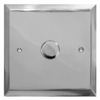 Mode Dimmer Switch 1 Gang Polished Chrome