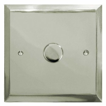 Mode Dimmer Switch 1 Gang Polished Nickel