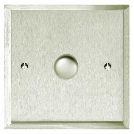 Mode Dimmer Switch 1 Gang Satin Nickel