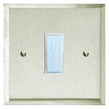 Mode Fused Spur Connection Unit 13 Amp Satin Nickel