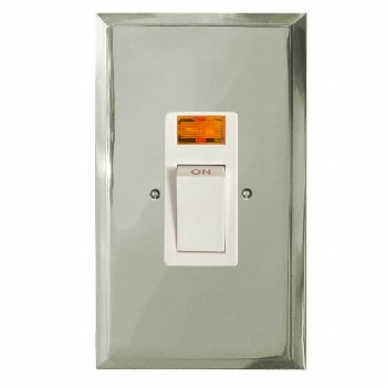 Mode Vertical Cooker Switch Polished Nickel