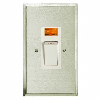 Mode Vertical Cooker Switch Satin Nickel