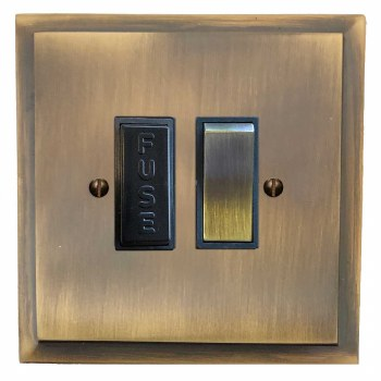 Mode Switched Fused Spur Antique Brass Lacquered