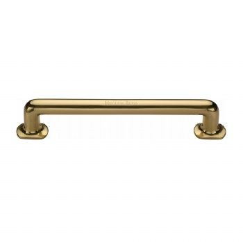 Heritage Traditional Pull Handle V1376 330 Medium Polished Brass