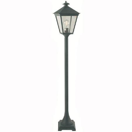 Elstead Turin Pillar Lantern Light Verdigris